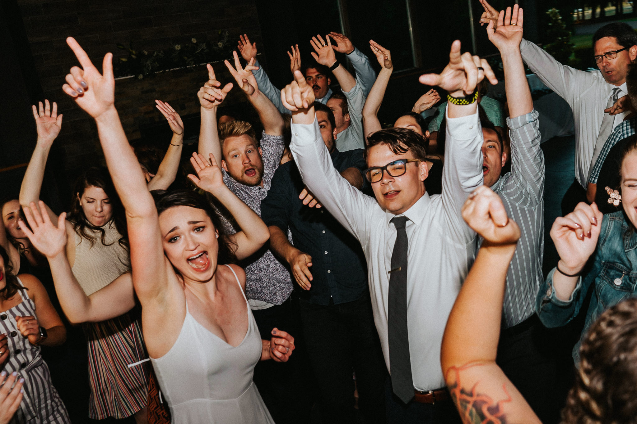 Bride groom Reception dance party Water Oasis pantsuit