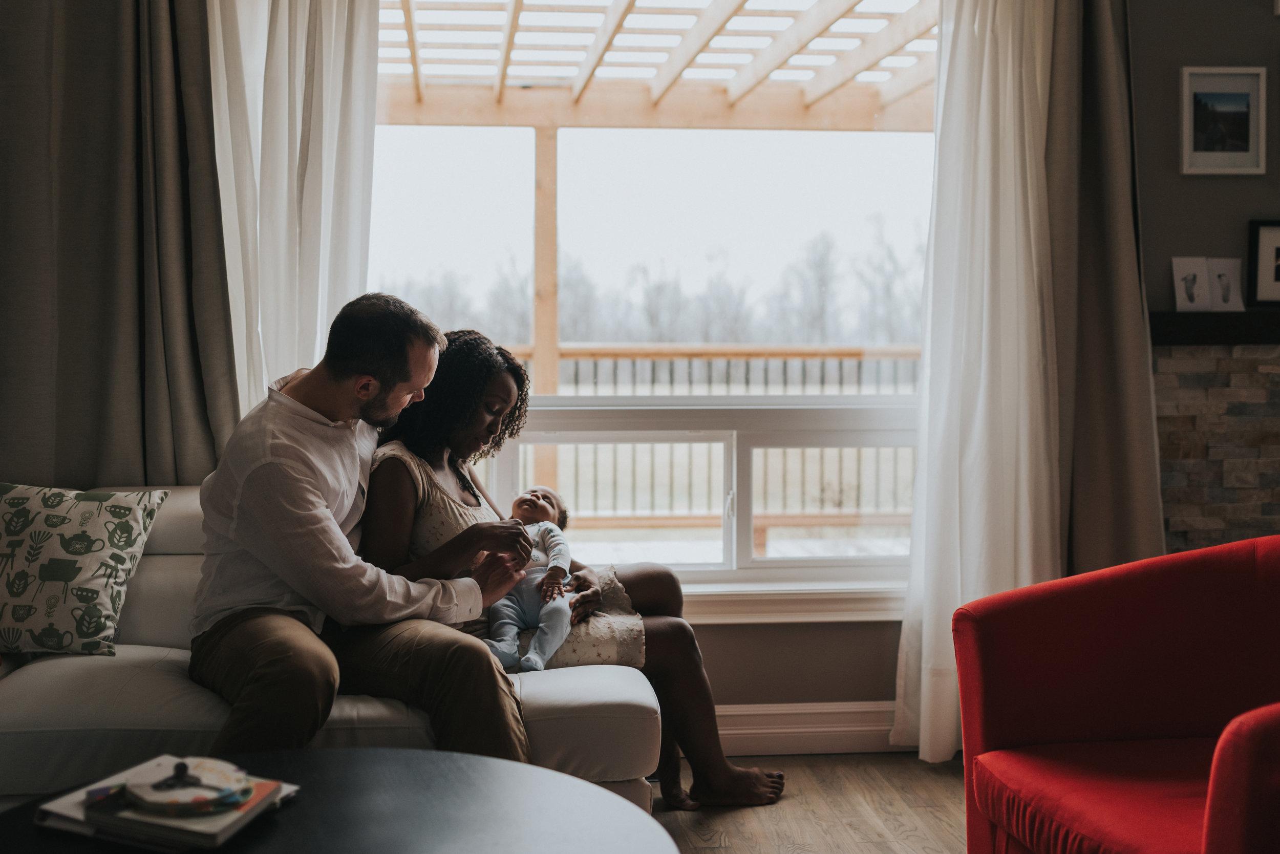 Grimsby, Niagara-region newborn lifestyle photography