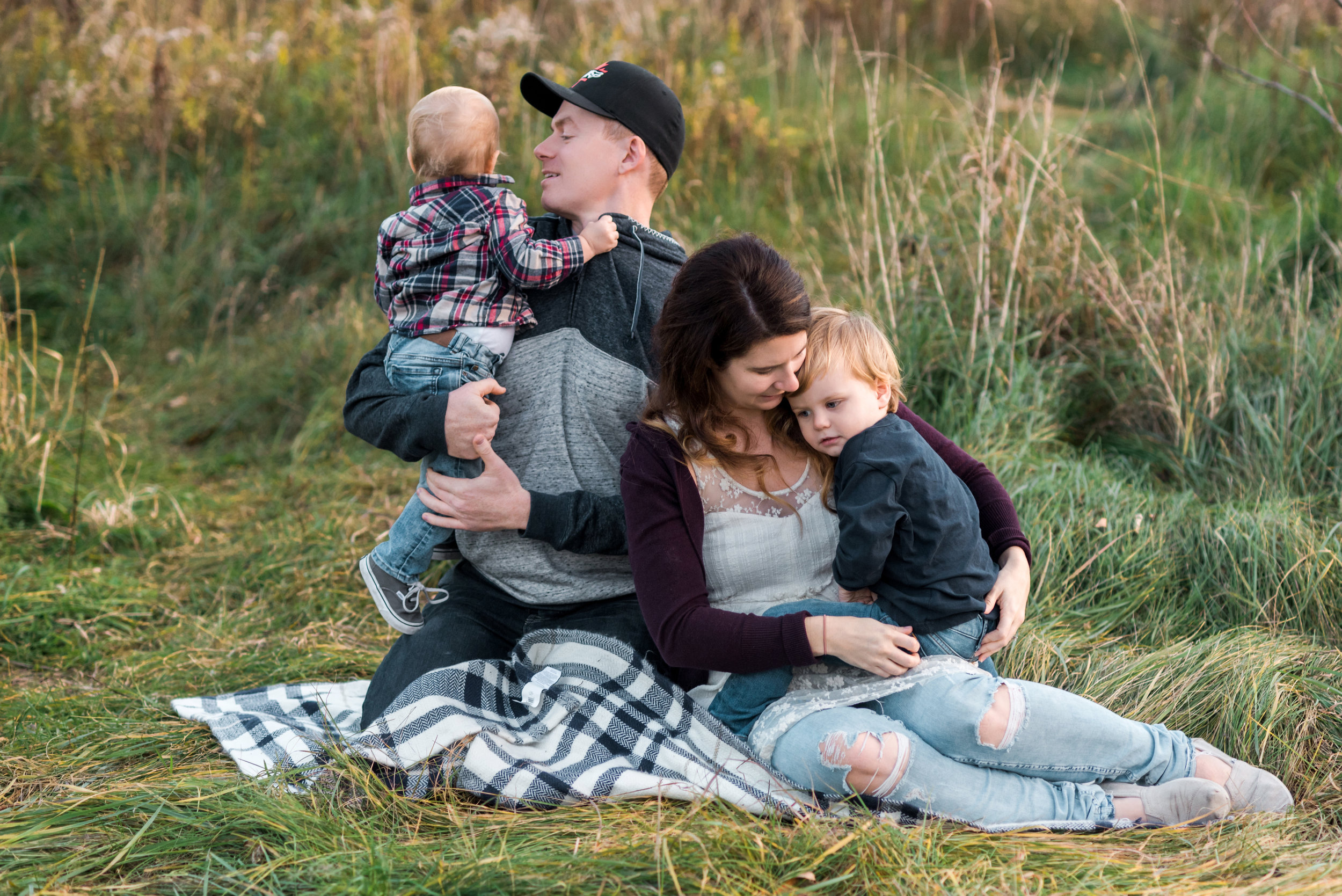 Burlington Family Lifestyle Photography Session