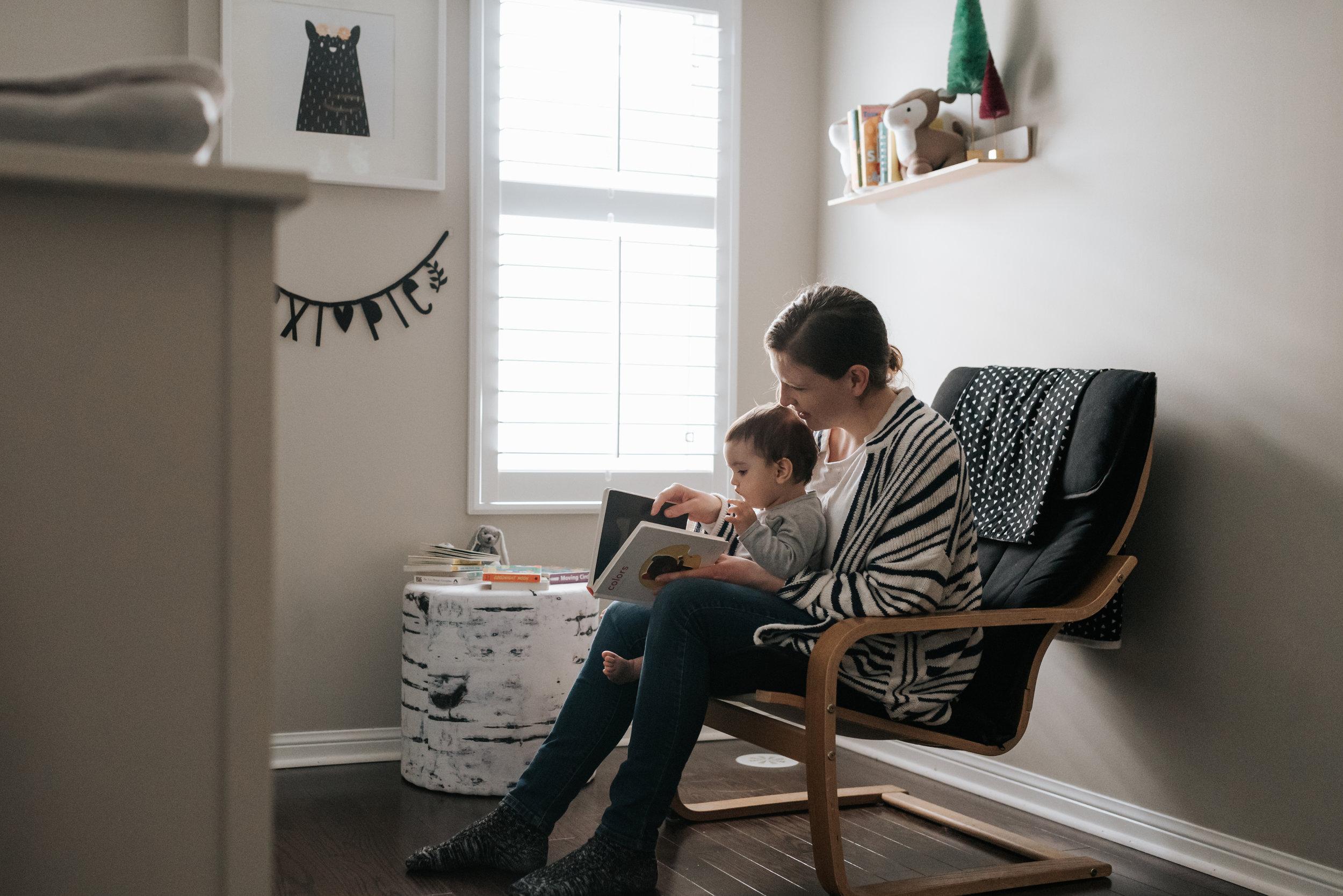 Reading In-home Lifestyle Family Session Hamilton / GTA / Niagara