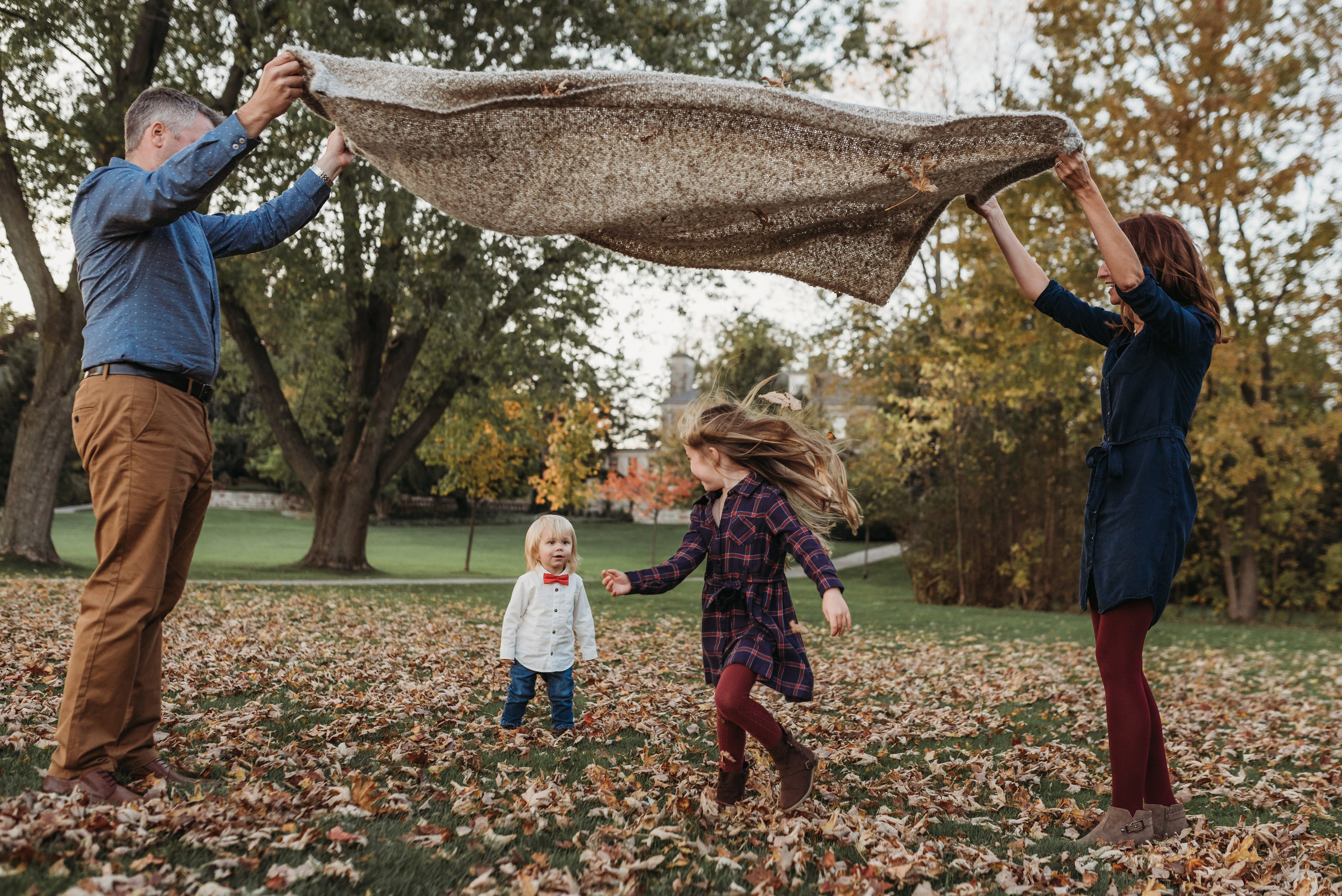 Paletta Burlington Fall Family Session