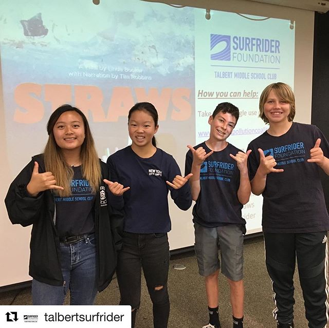 #strawsfilm Impact Campaign in #la schools continues with a great screening at Talbert Middle School!💙📽😎we now have STEM/STEAM/NGSS action lesson plans for grades 3-12 with edu purchase DVD/download at @thevideoproject #Repost @talbertsurfrider #plasticfreejuly #plasticpollutes #noplasticstraws #planetorplastic ・・・ Talbert viewing of @strawsfilm was a success! Take the #nostrawspledge and refuse #singleuseplastics! @used_once_lasts_forever #plasticpollutioncoalition #nostrawsplease @surfriderclubnetwork