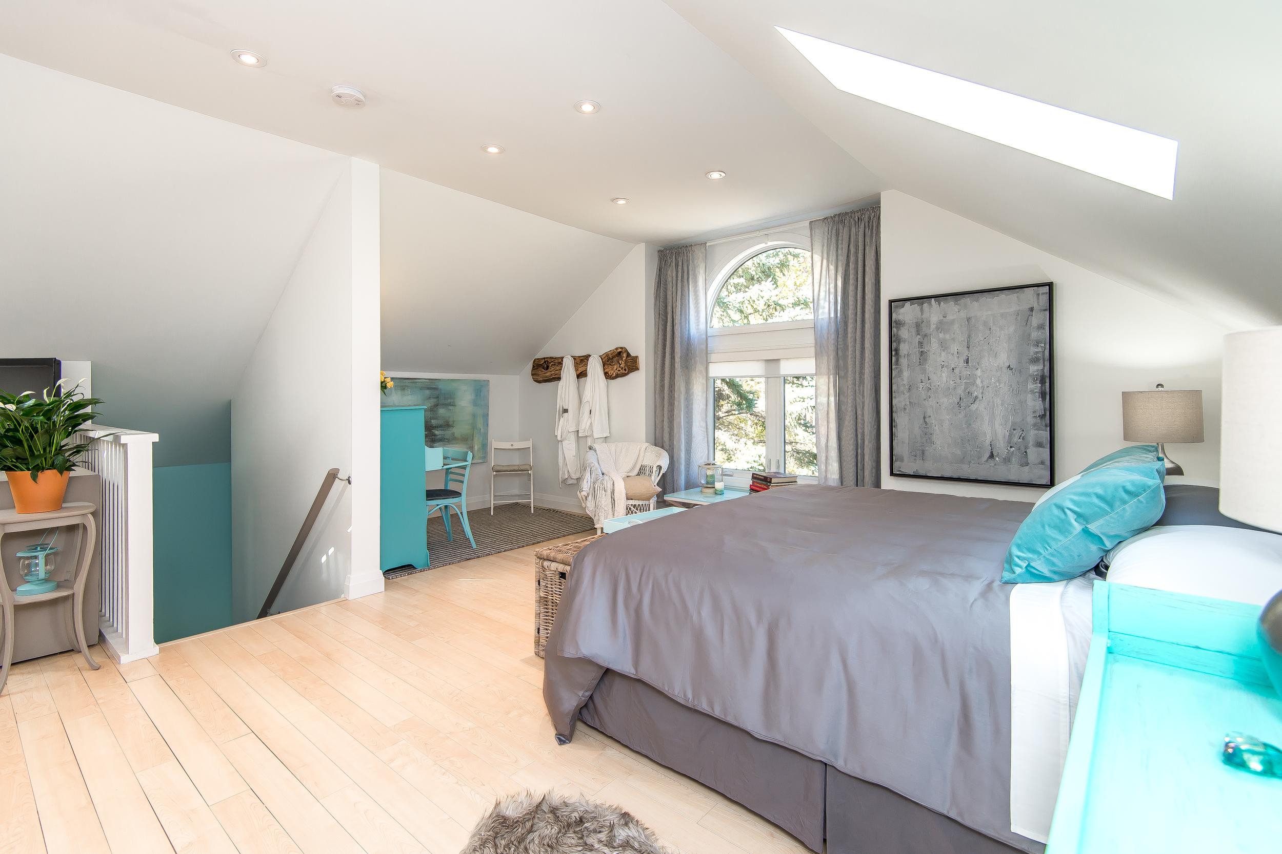 View of bedroom area