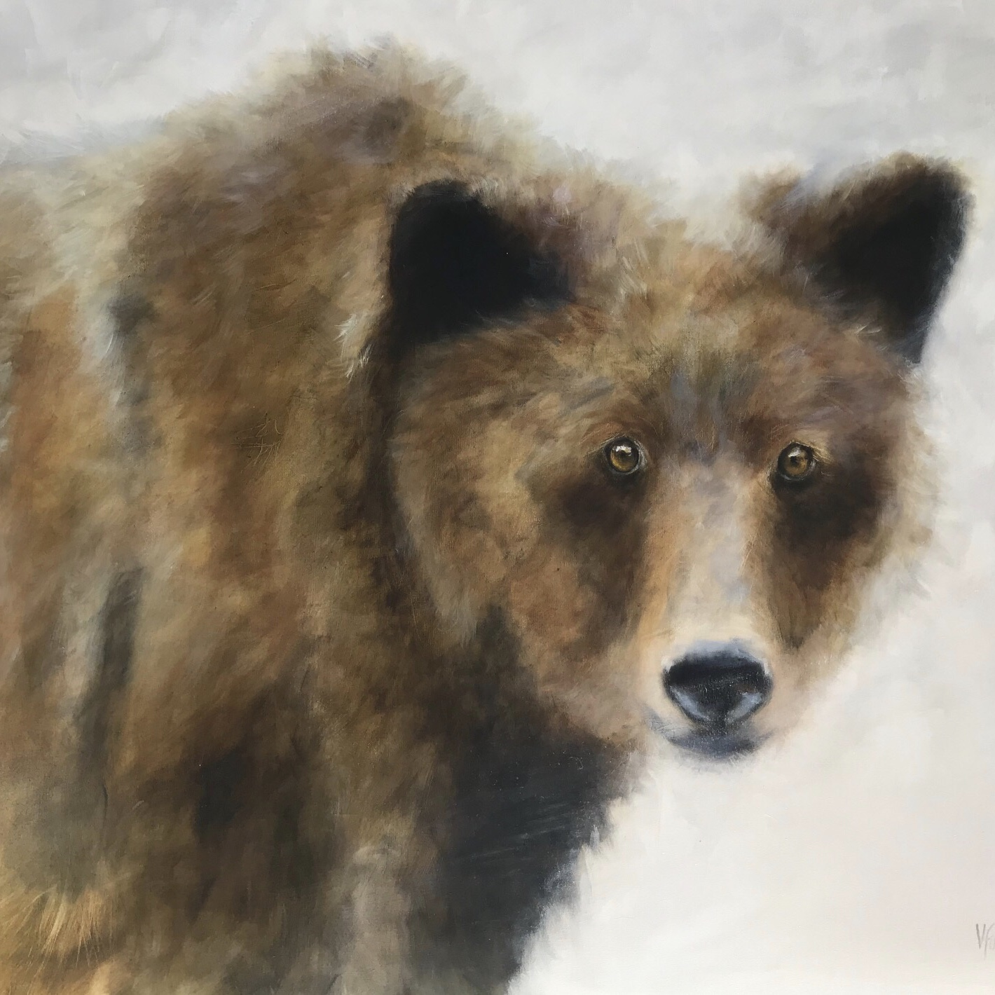 Callaghan Grizzly 36 x 48 Sold
