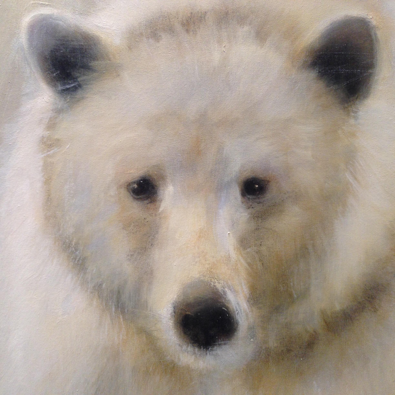 Spirit Bear 36 x 36 Sold