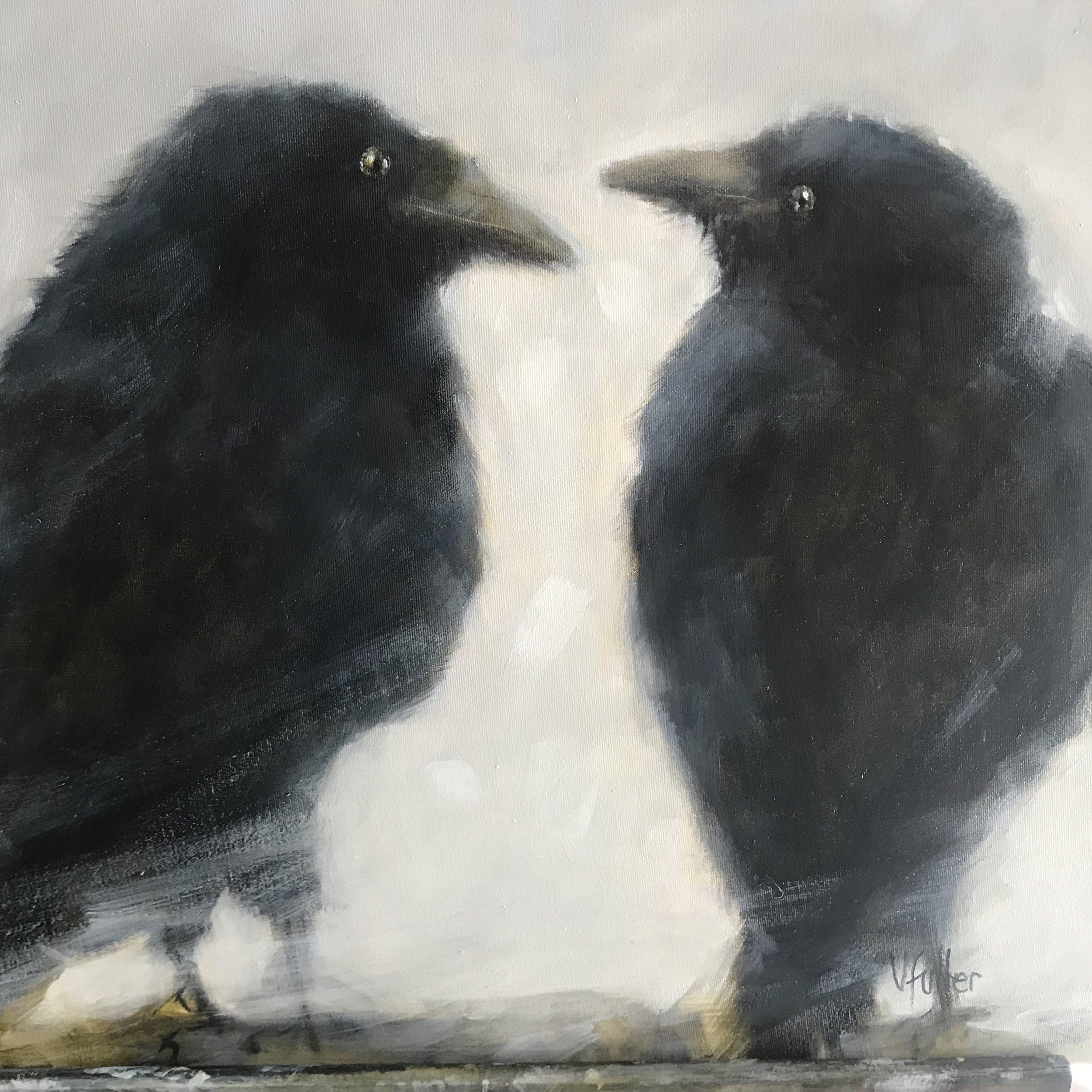 Raven Talk 16 x 20 Sold