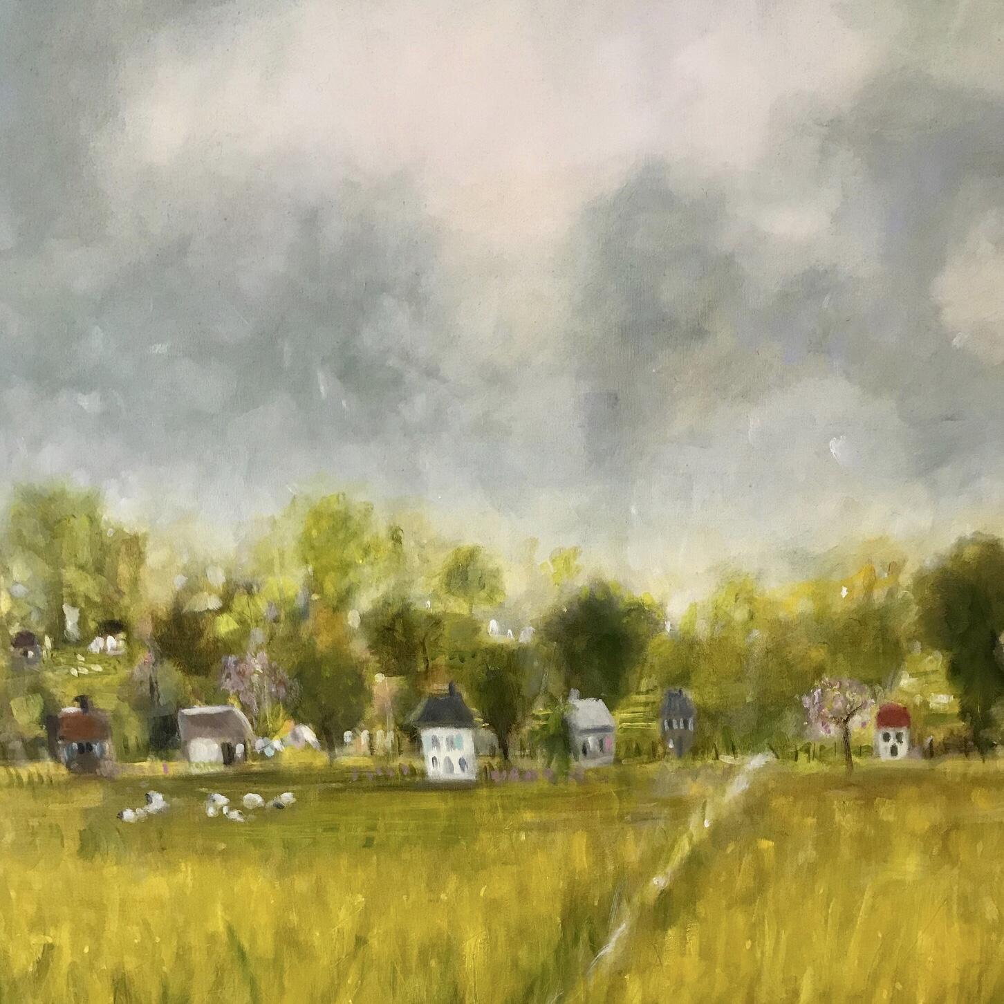 La Dordogne 36 x 36 Sold
