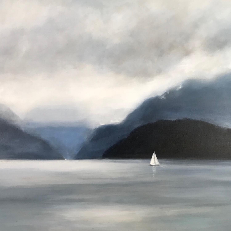 Salish Sea - Nocturne 48 x 60 Sold