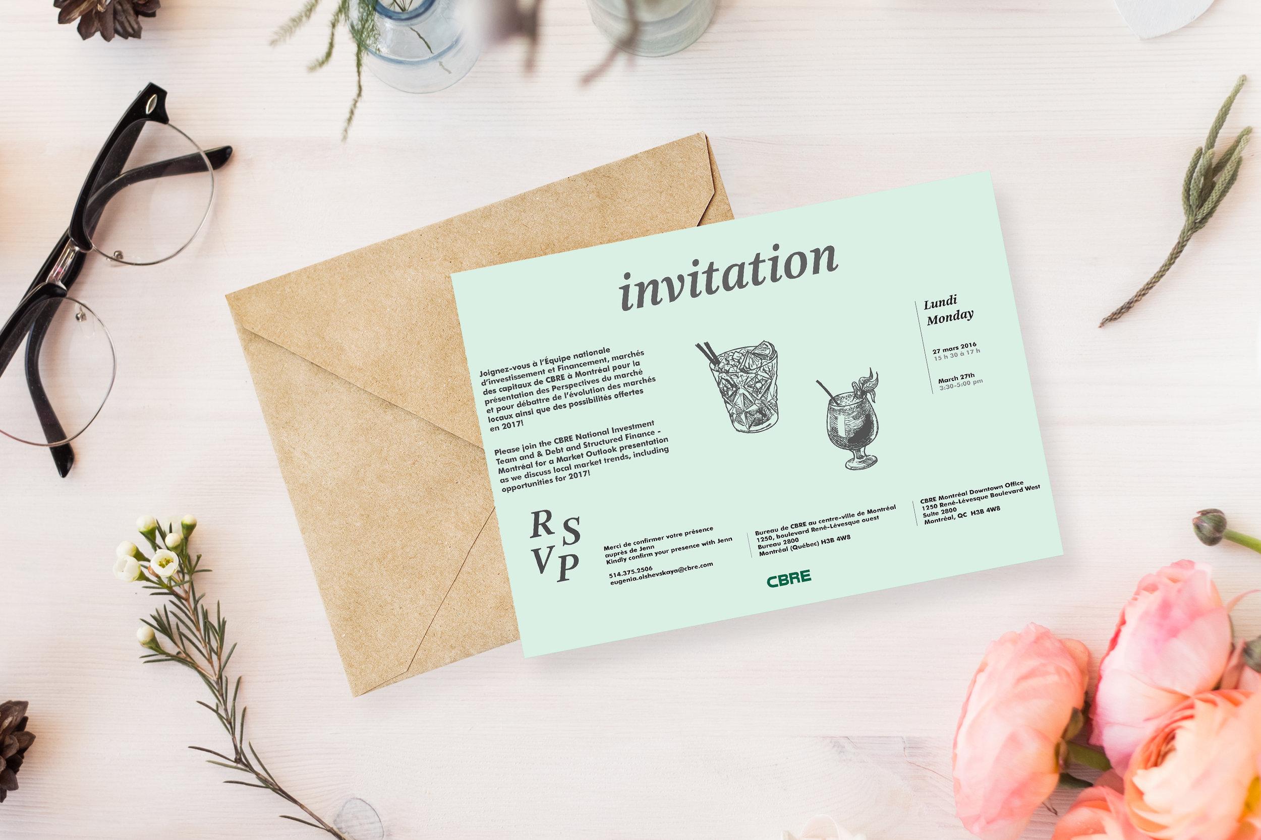 Invitation CBRE