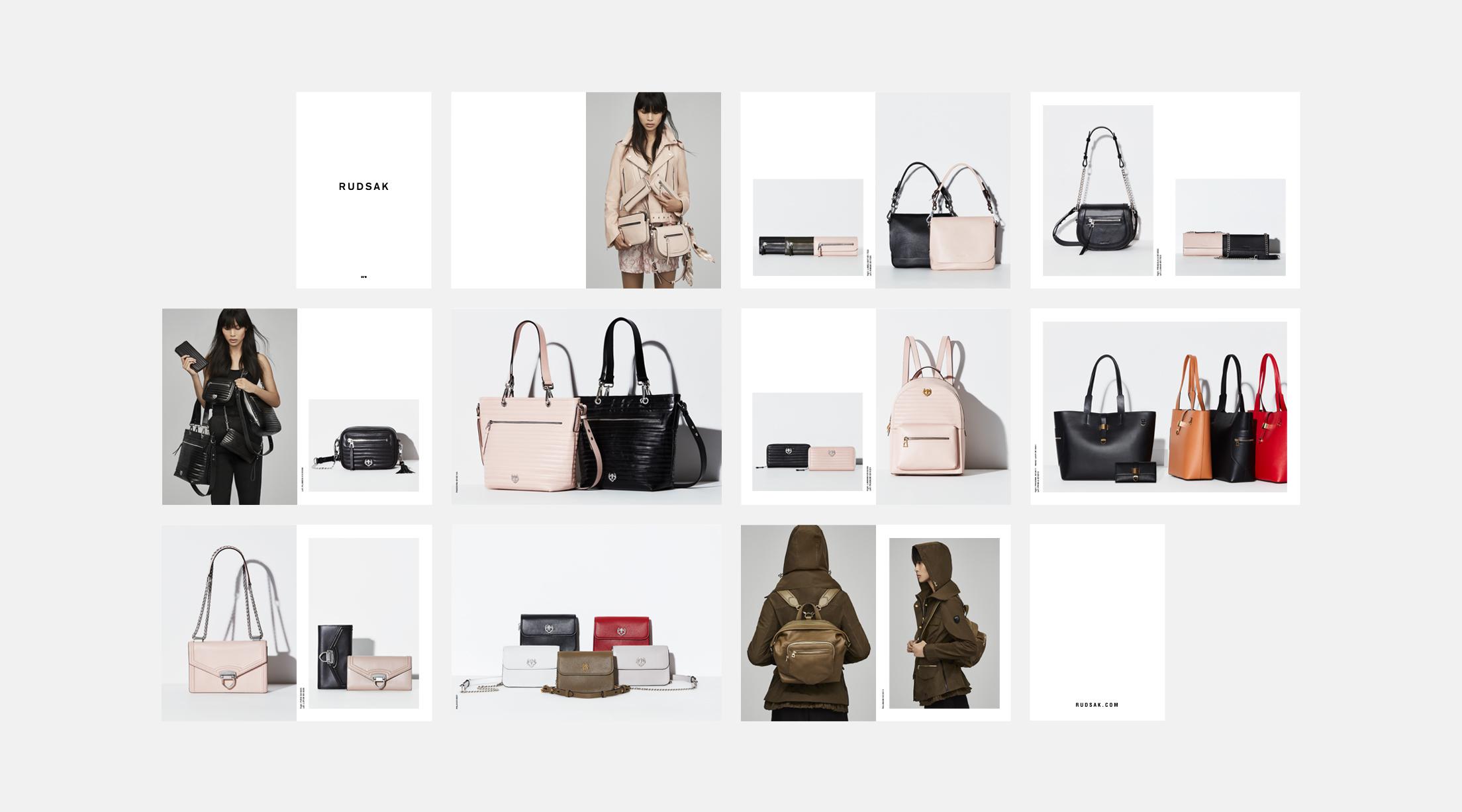 SS18 Lookbook - Handbags, Backpacks