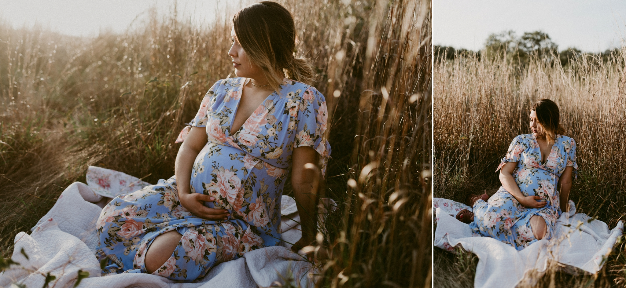 rustic-intimate-tall-grass-motherhood-maternity-session-kerlyn-van-gelder-photography-corpus-christi-photographer