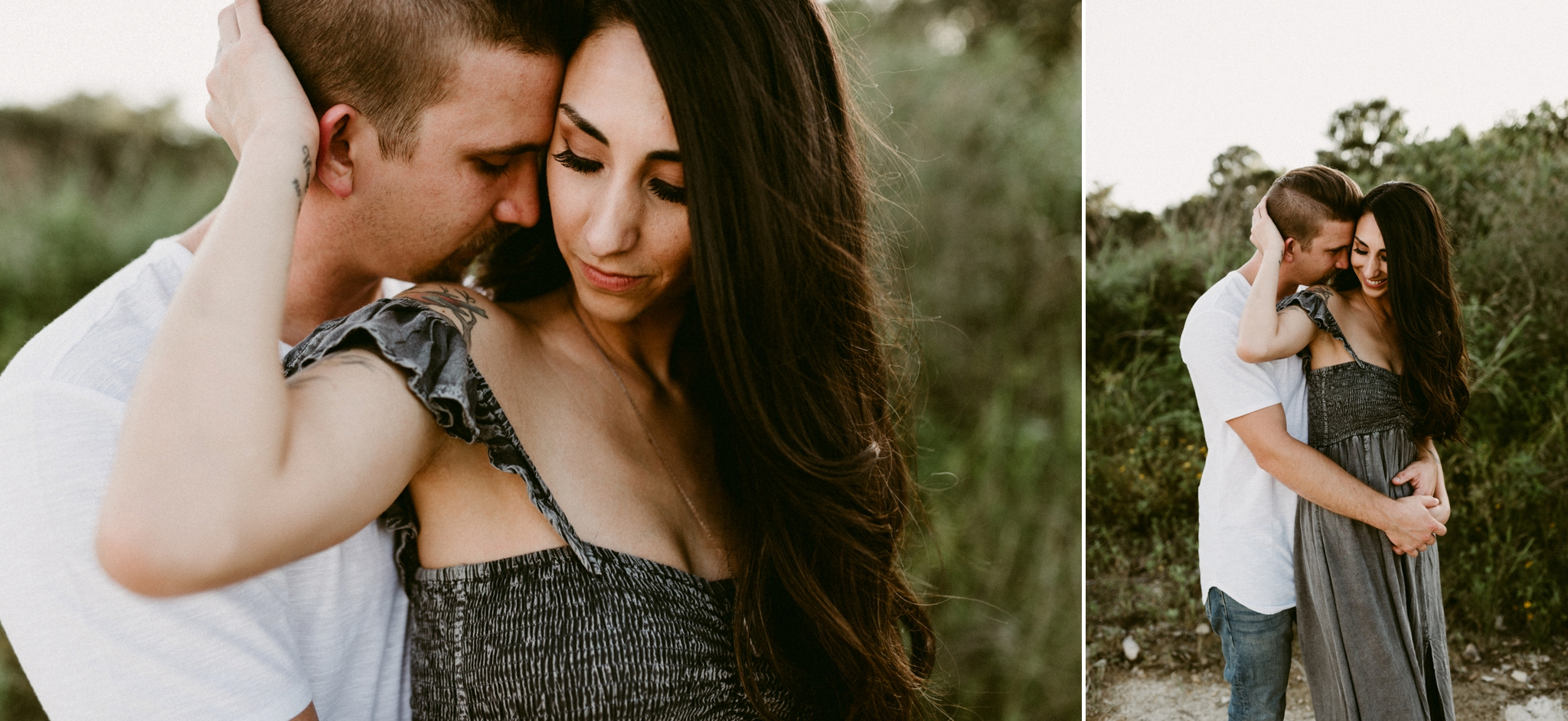 Mckinney-Falls-State-Park-Emotive-Intimate-Outdoor-River-Waterfalls-Engagement-Session-Austin-Wedding-Photographer