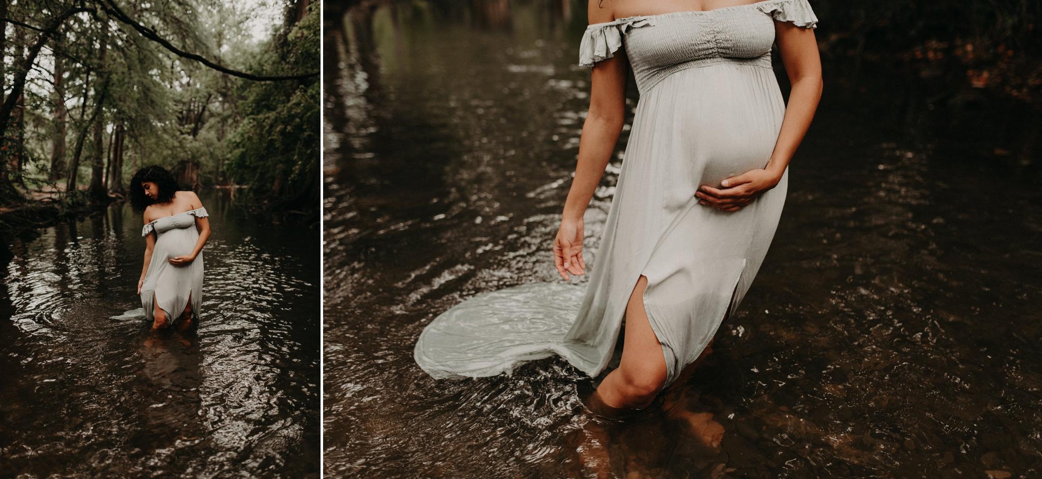 greenery-river-maternity-family-session-cibolo-nature-center-kerlyn-van-gelder-san-antonio-photographer