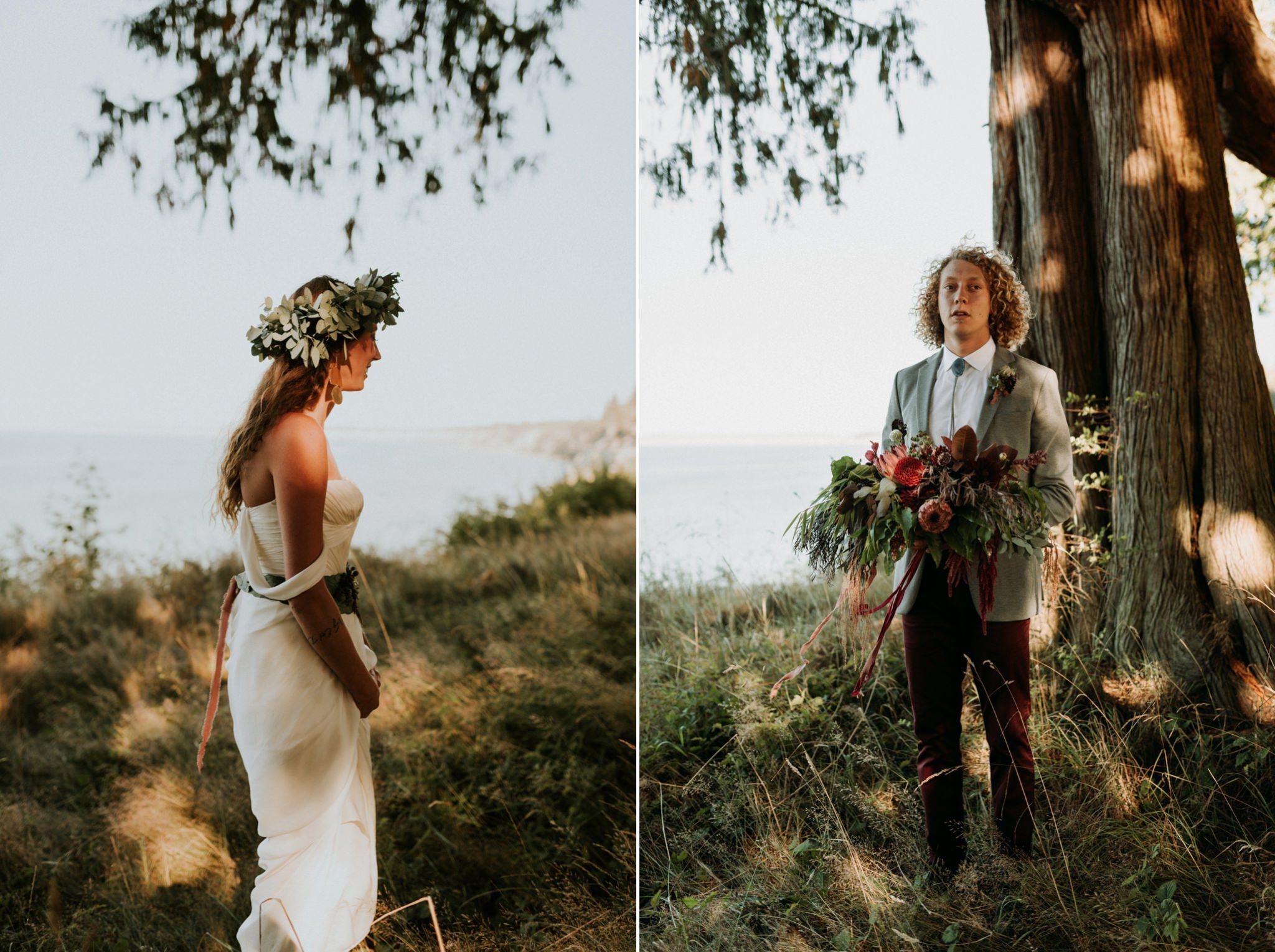 magical-bohemian-barnhouse-greenery-port-angeles-washington-forest-seaside-grassy-wedding-Kerlyn-Van-Gelder-Photography-Washington-Wedding-Photographer