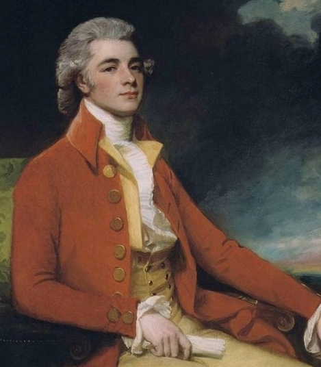 Portrait of Portrait of George Bustard Greaves, by George Romney (1734-1802)