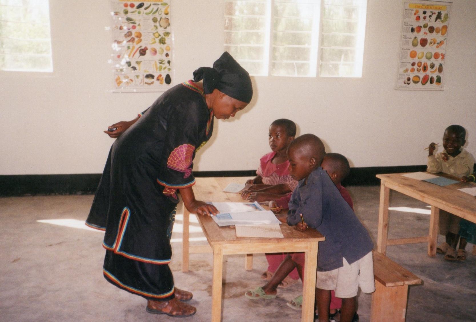 Heri-Special-School-Tanzania-classroom-with-teacher