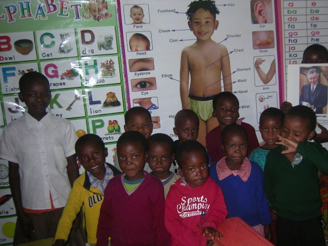 2015 - some of the pupils in the classroom