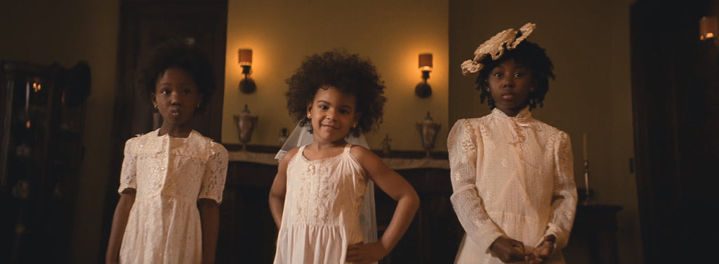 Beautiful Blue Ivy and her natural hair