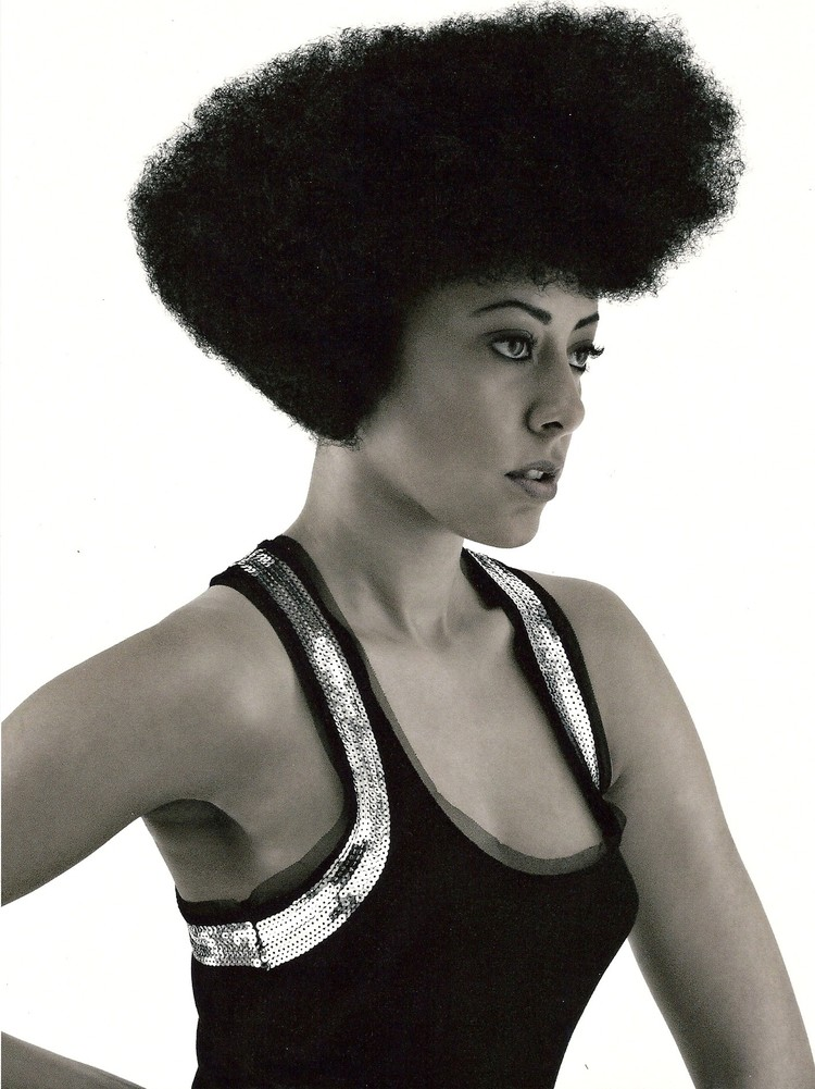 My real afro by the way. Before anyone asks.