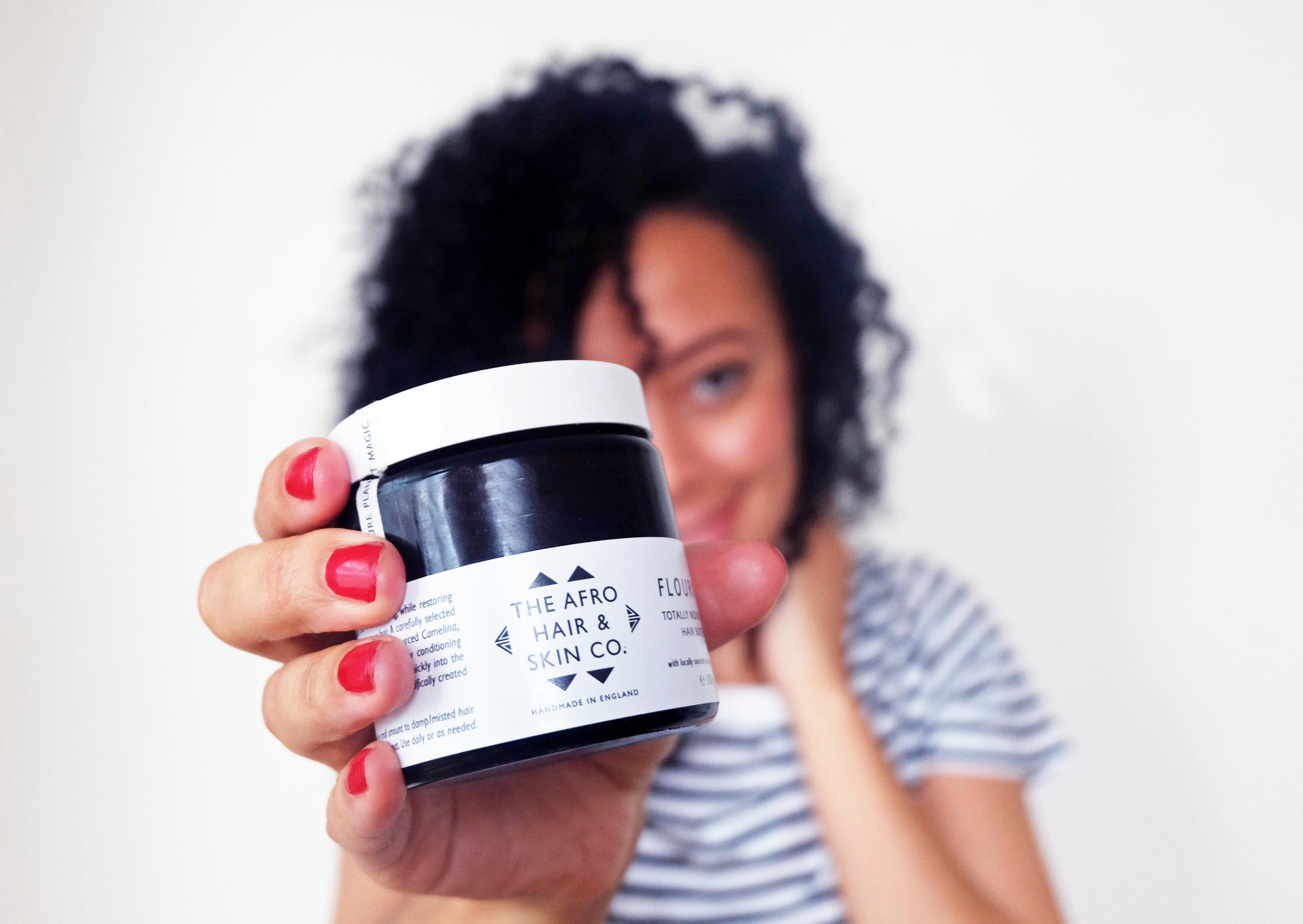 The Afro Hair & Skin Company - Flourish hair butter