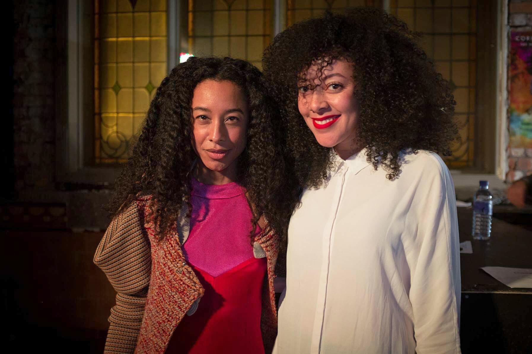 Corinne Bailey Rae and Lynda Moyo
