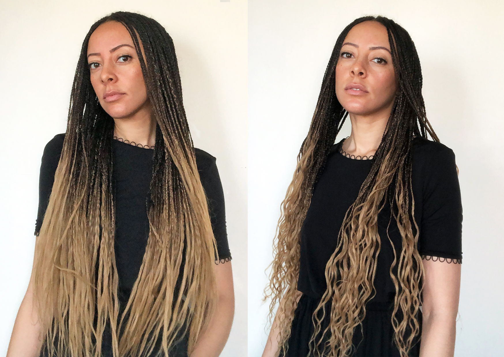 Ombre Braids Hairstyle For 2018 M O Y O