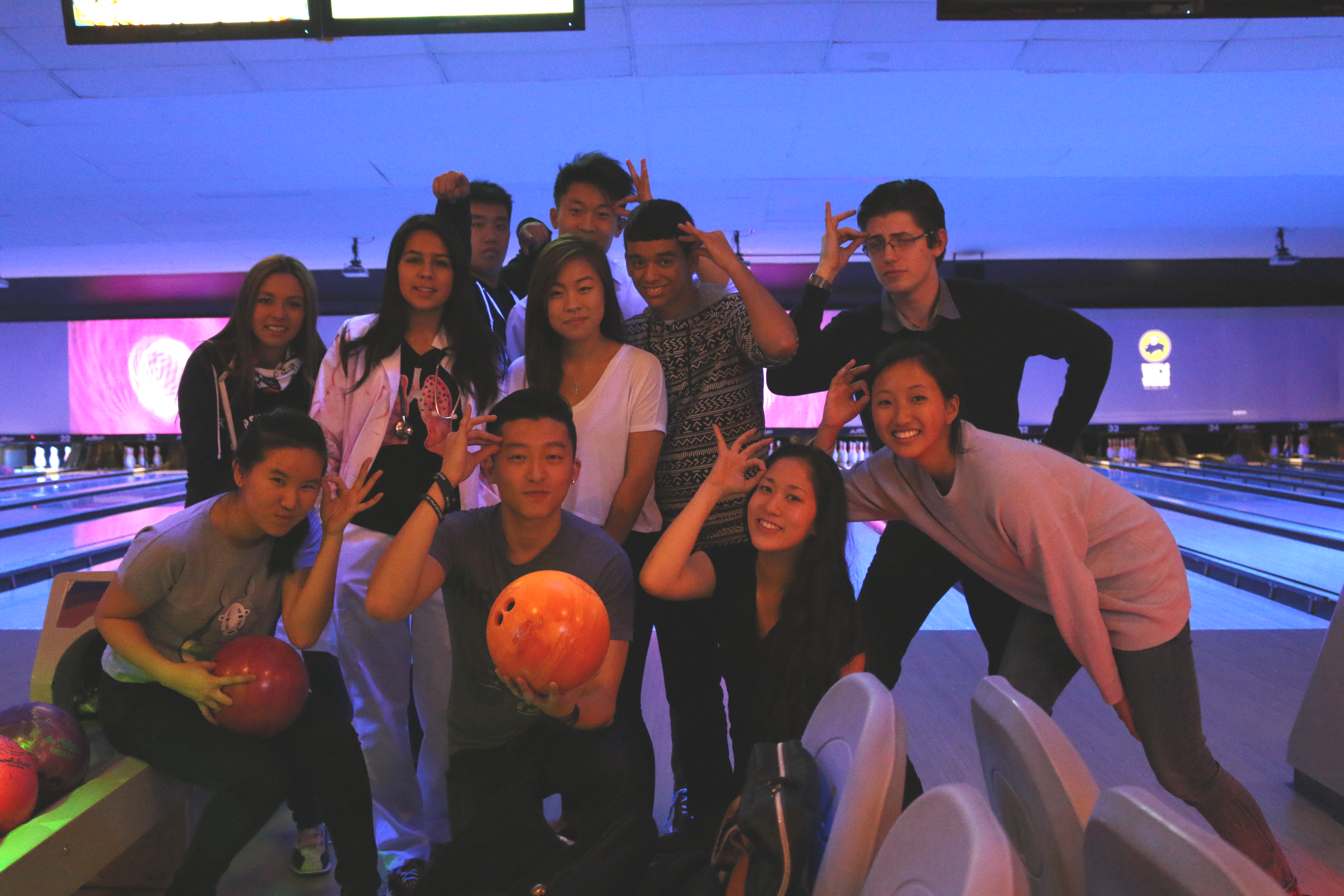 The MOB Goes Bowling