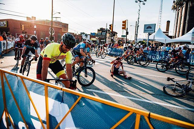 Having a case of the Mondays? Let it go and talk to this guy after @tulsa_tough weekend... . . . . . . . . . . . #tulsatough #tulsa #cyclinglife #cycling #vscocycling #cyclist #cyclingpics #biking #vsco #strava #lightbro #eliel #bikerace #usacrits #bikecrash #watts
