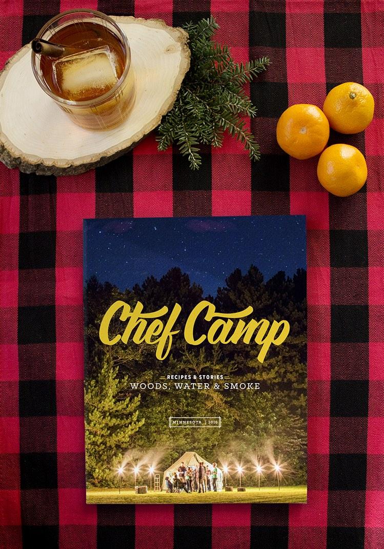 Chef Camp recipe book on plaid.jpg