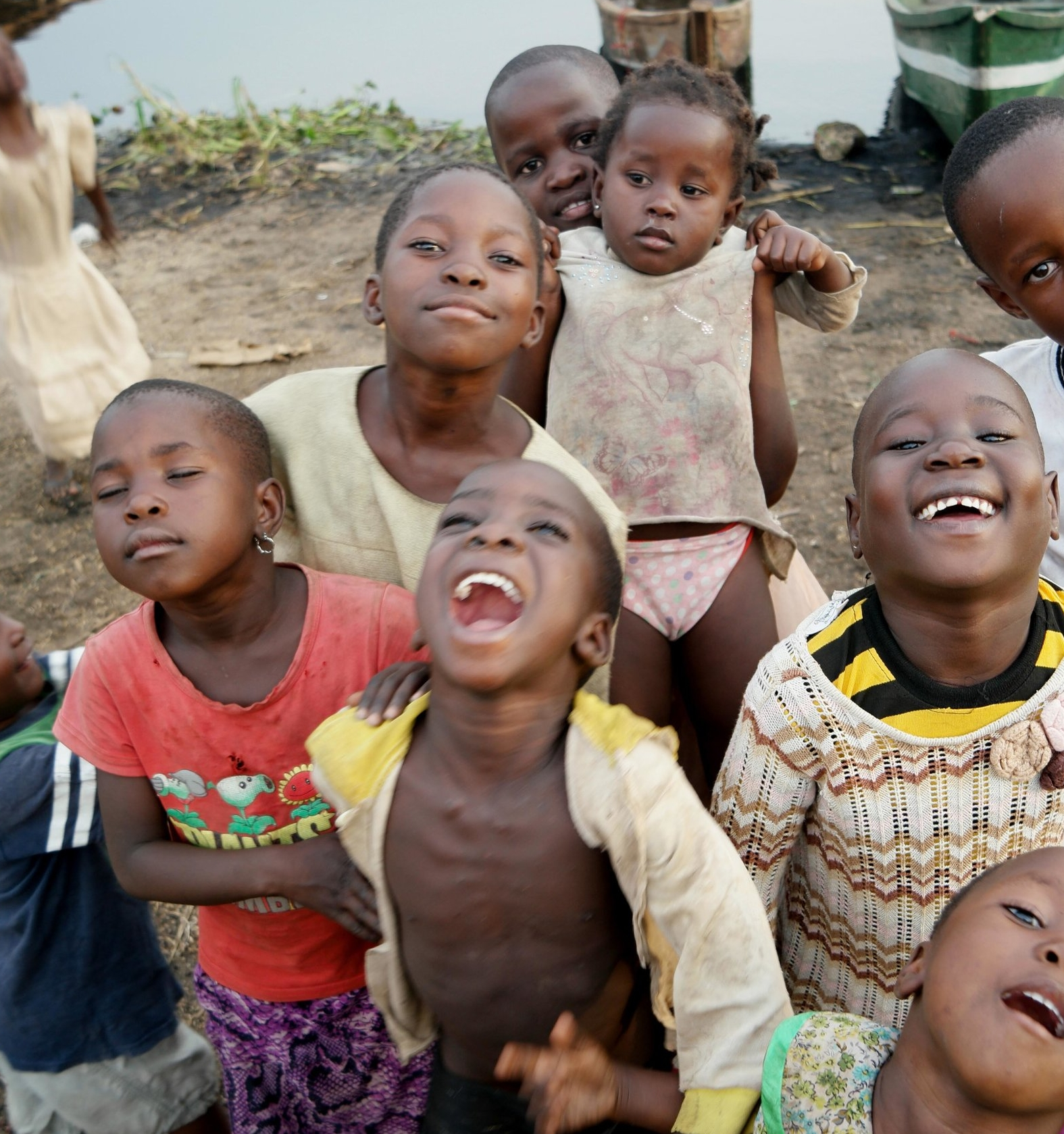 Uganda- Gideon- children laughing