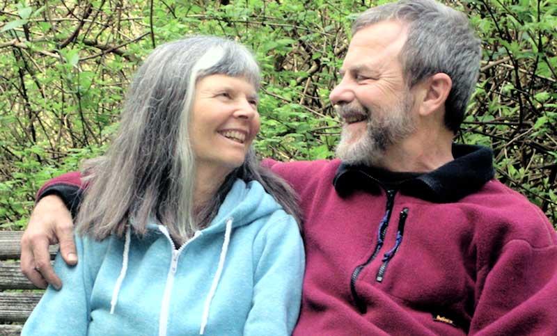 Diana Pepper and John Robinson at Tree Frog Farm