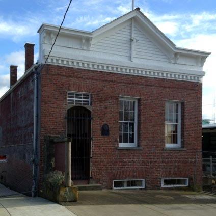 Sheriff Lane's courthouse & jail. 1308 E. Street, Bellingham