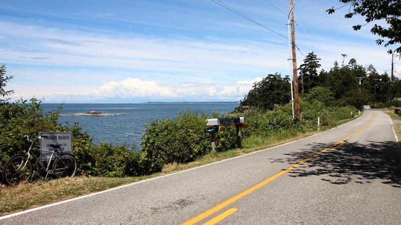 Seal rocks off the north point of Lummi Island