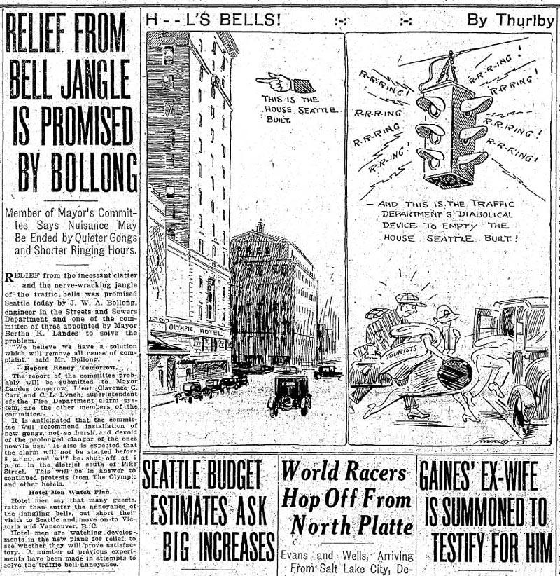 Seattle Times July 13, 1926
