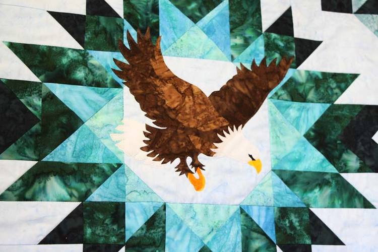 Quilt by Mary Barstow