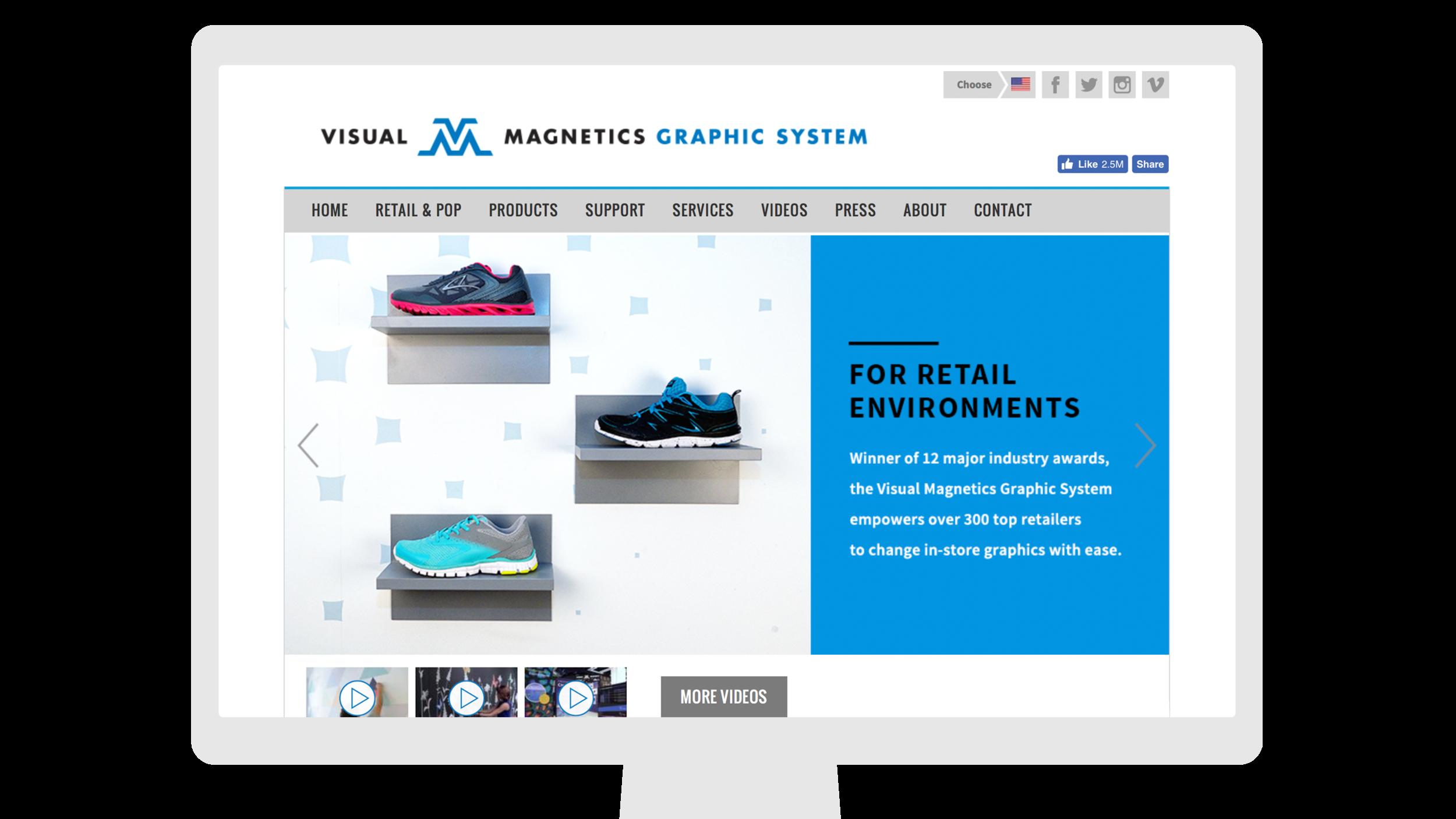 Visual Magnetics Graphic System