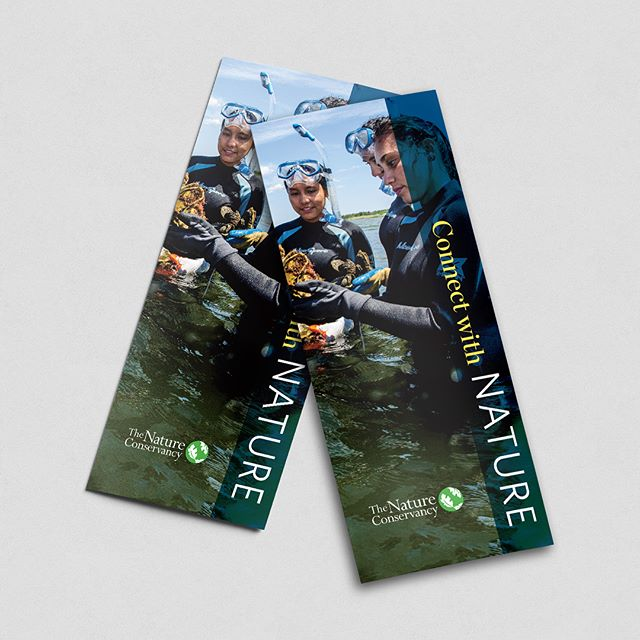 Brochure we designed for The Nature Conservancy in Rhode Island. #graphicdesign #brochuredesign #branding #thenatureconservancyri