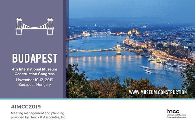@museumconstruction is pleased to announce IMCC2019 will be held in the great city of #budapest. Sessions will be held at the @budapest_varosliget and receptions and host hotel will be at #ritzcarltonbudapest Stay tuned for updates. #hauckmeetings #meetingplaners #imcc2019 #budapest