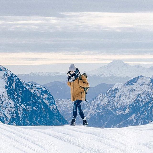 Walking through the alpine ❄️ photo : @nathanielatakora #monumentcreatives