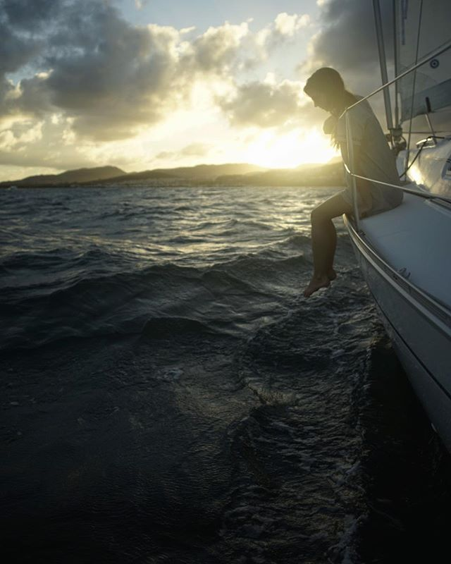 7 days 10hrs on the Atlantic Ocean from Bermuda and we have finally arrived in Puerto Rico 🇵🇷 It feels so good to be on land again and to look back on all those days of being so small in this powerful ocean. We are so grateful we were given a great departure window with powerful winds from the North and steady trades in the south.