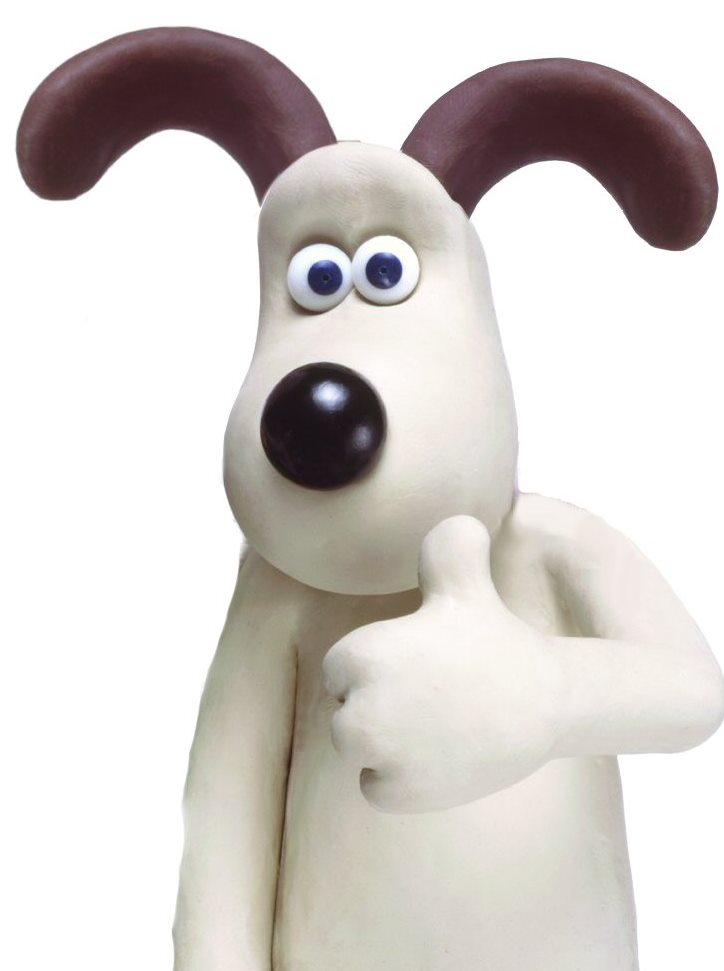 (Image: Gromit - Aardman Animations)