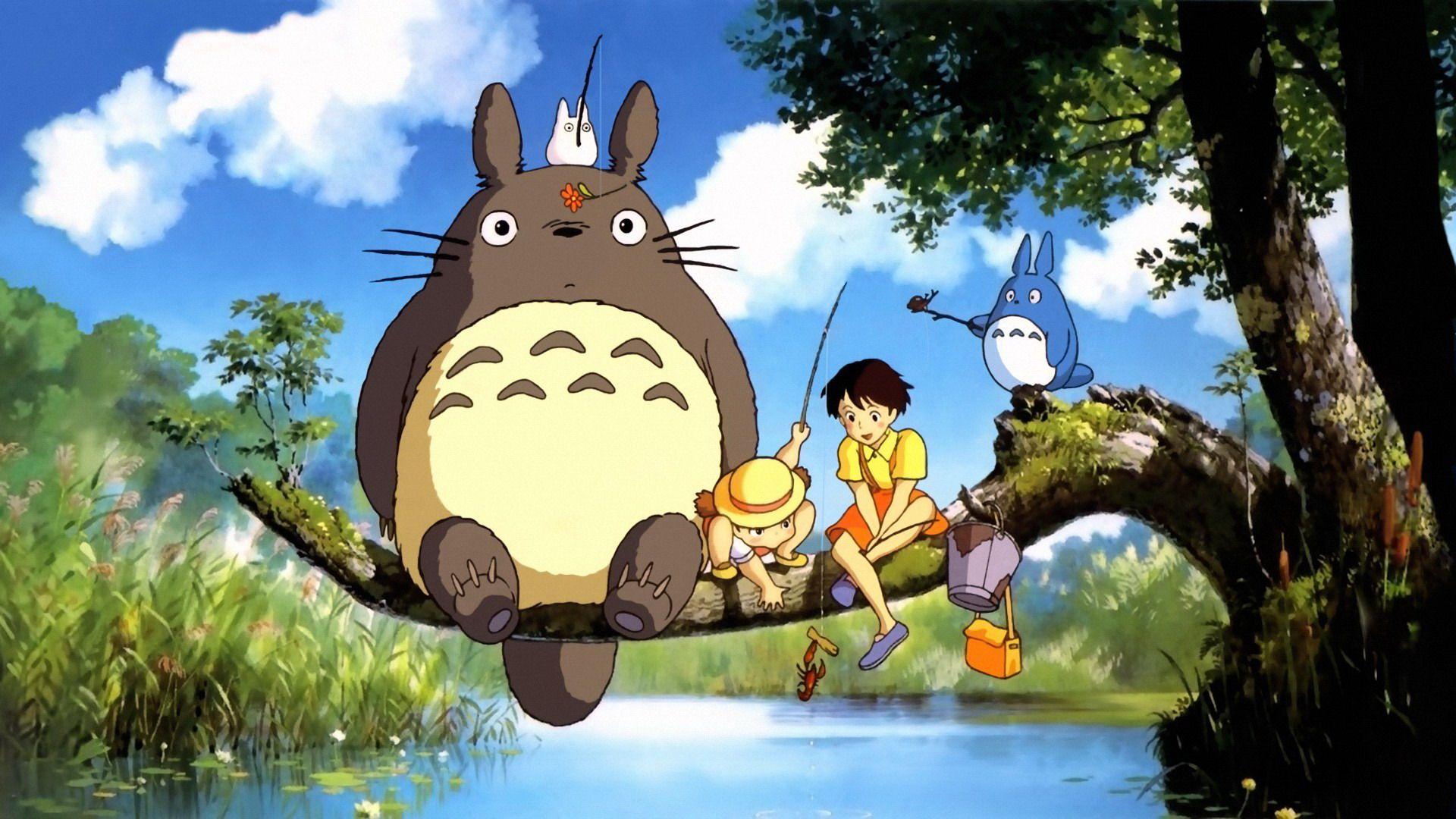 (Image: 'My Neighbor Totoro'Studio Ghibli)