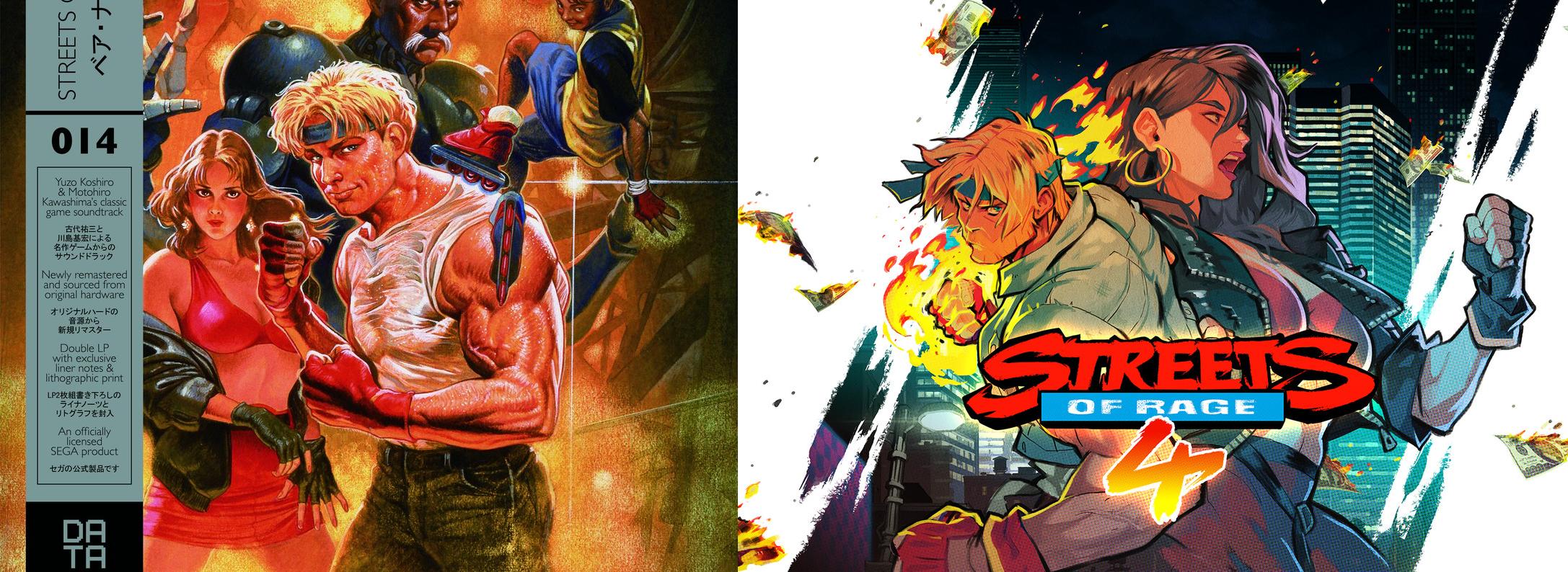 (Image: Streets of Rage 3 vs Streets of Rage 4)