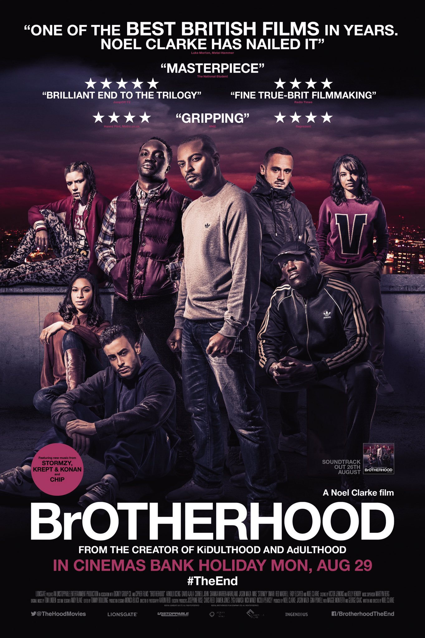 BROTHERHOOD (2016)  - VISUAL EFFECTS