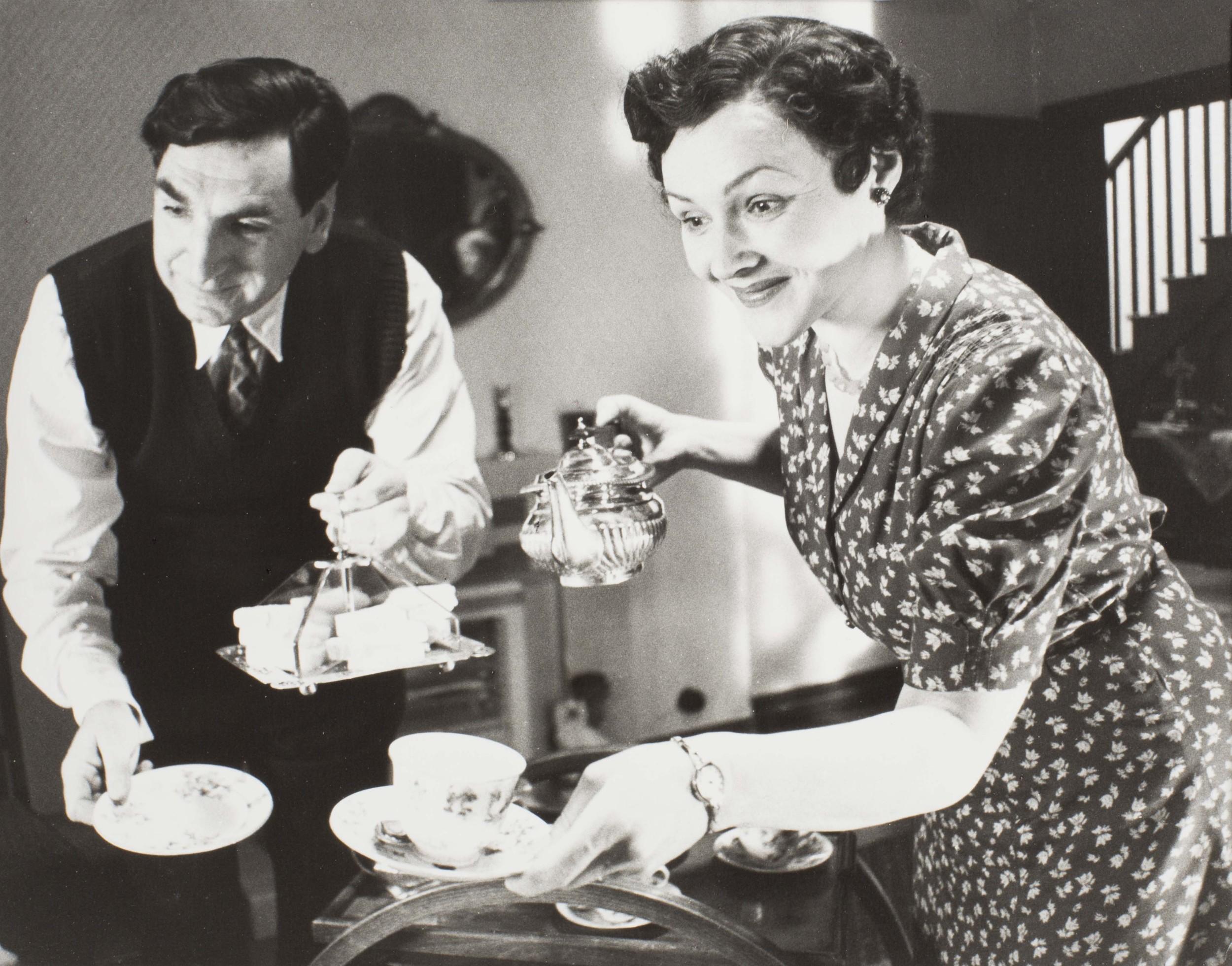Jim Carter and Frances Barber