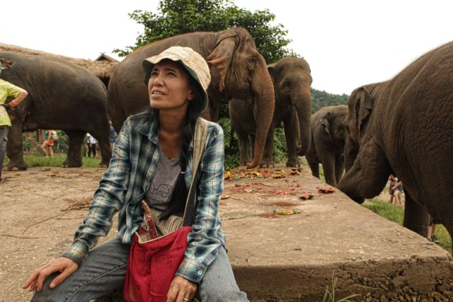 2 aOur host and elephant goddess .jpg