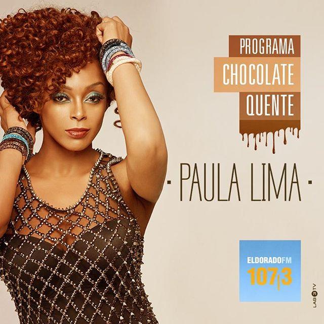 Reprise de #ChocolateQuente? Hoje tem! A partir das 19h, na @radioeldorado 107,3FM ou diretamente do celular neste link: bit.ly/EldoradoChocolateQuente 🍫🔥