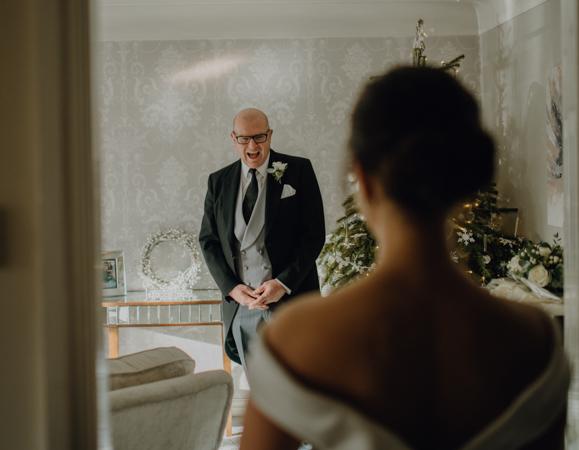 WINTER WEDDING LAKESIDE MARQUEE THORNTON MANOR-35.jpg