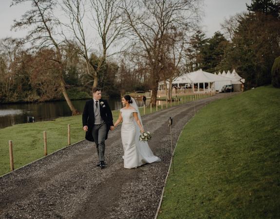 WINTER WEDDING LAKESIDE MARQUEE THORNTON MANOR-84.jpg
