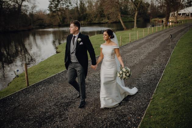 WINTER WEDDING LAKESIDE MARQUEE THORNTON MANOR-86.jpg